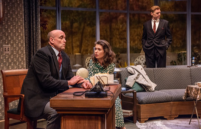 DAYS TO COME BY LILLIAN HELLMAN Larry Bull, Janie Brookshire, and Ted Deasy Photo by Todd Cerveris
