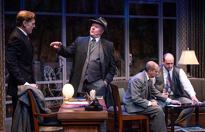DAYS TO COME BY LILLIAN HELLMAN Ted Deasy, Dan Daily, Evan Zes, and Geoffrey Allen Murphy Photo by Todd Cerveris