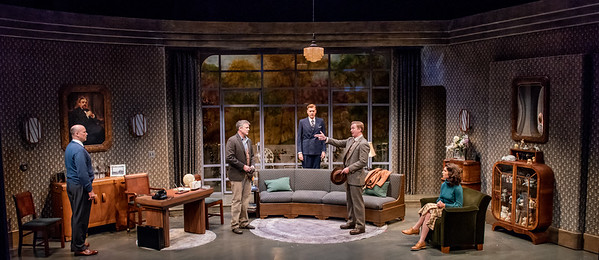 DAYS TO COME BY LILLIAN HELLMAN Larry Bull, Chris Henry Coffey, Ted Deasy, Roderick Hill, and Janie Brookshire Photo by Todd Cerveris