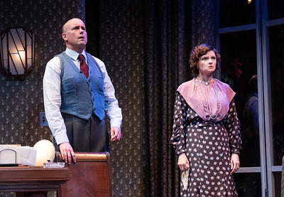 DAYS TO COME BY LILLIAN HELLMAN Larry Bull and Mary Bacon Photo by Todd Cerveris
