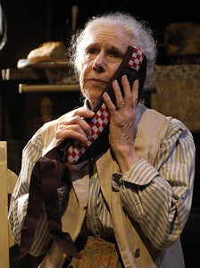 Frances Sternhagen in ECHOES OF THE WAR: TWO SHORT PLAYS by J.M. Barrie  Photo: Richard Termine
