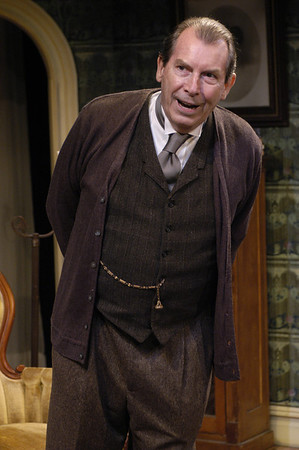 Richard Easton in ECHOES OF THE WAR: TWO SHORT PLAYS by J.M. Barrie  Photo: Richard Termine
