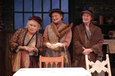 Mary Ellen Ashley, Pat Nesbit and Katherine McGrath in ECHOES OF THE WAR: TWO SHORT PLAYS by J.M. Barrie  Photo: Richard Termine
