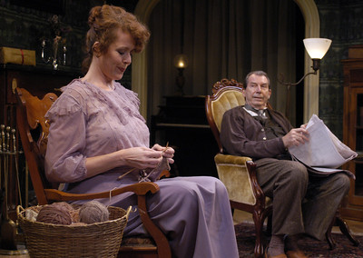 Anne-Marie Cusson and Richard Easton in ECHOES OF THE WAR: TWO SHORT PLAYS by J.M. Barrie  Photo: Richard Termine