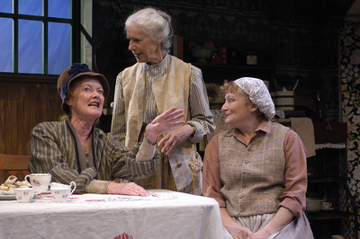 Katherine McGrath, Frances Sternhagen and Pat Nesbit in ECHOES OF THE WAR: TWO SHORT PLAYS by J.M. Barrie  Photo: Richard Termine