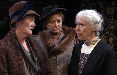 Katherine McGrath, Pat Nesbit and Frances Sternhagen in ECHOES OF THE WAR: TWO SHORT PLAYS by J.M. Barrie  Photo: Richard Termine