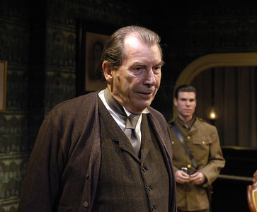 Richard Easton and Aaron Krohn in ECHOES OF THE WAR: TWO SHORT PLAYS by J.M. Barrie  Photo: Richard Termine