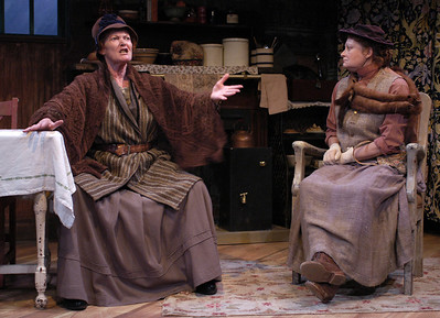 Katherine McGrath and Pat Nesbit in ECHOES OF THE WAR: TWO SHORT PLAYS by J.M. Barrie  Photo: Richard Termine