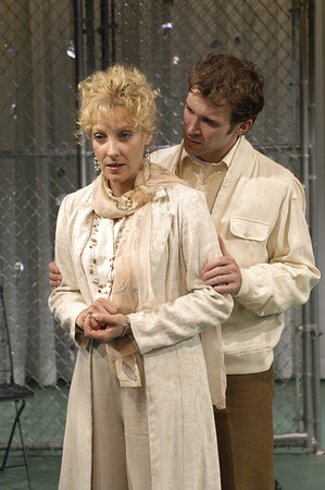Lisa Bostnar and Joshua Decker in FAR AND WIDE by Arthur Schnitzler  Photo: Richard Termine