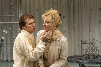 Joshua Decker and Lisa Bostnar in FAR AND WIDE by Arthur Schnitzler  Photo: Richard Termine