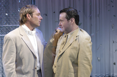 Hans Tester and Allen Lewis Rickman in FAR AND WIDE by Arthur Schnitzler  Photo: Richard Termine