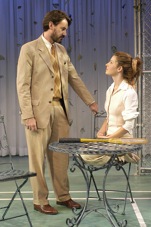 Ezra Barnes and Kate Arrington in FAR AND WIDE by Arthur Schnitzler  Photo: Richard Termine