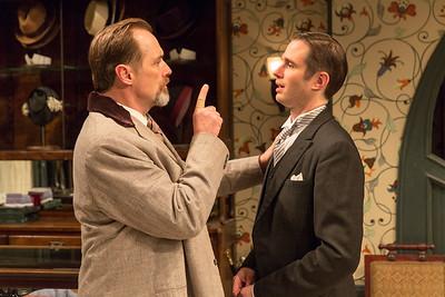 Kurt Rhoads and Joe Delafield in FASHIONS FOR MEN by Ferenc Molnár. Photo: Richard Termine