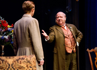 Jeremy Beck and Brian Reddy in HINDLE WAKES by Stanley Houghton, directed by Gus Kaikkonen. Photo by Todd Cerveris.