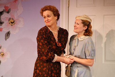 Bairbre Dowling and Erin Moon in IS LIFE WORTH LIVING? by Lennox Robinson  Photo: Richard Termine