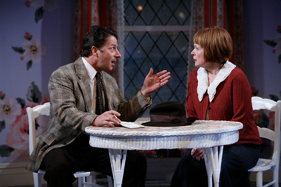 Grant Neale and Margaret Daly in IS LIFE WORTH LIVING? by Lennox Robinson  Photo: Richard Termine