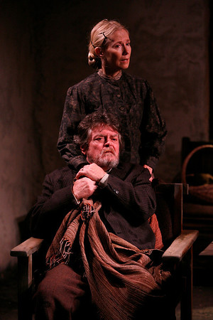 Joyce Cohen and Robertson Carricart in JOHN FERGUSON by St. John Ervine  Photo: Richard Termine