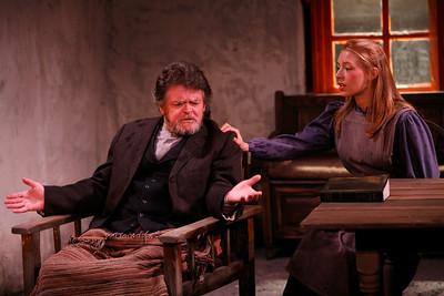 Robertson Carricart and Marion Woods in JOHN FERGUSON by St. John Ervine  Photo: Richard Termine