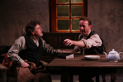 Robertson Carricart and Mark Saturno in JOHN FERGUSON by St. John Ervine  Photo: Richard Termine