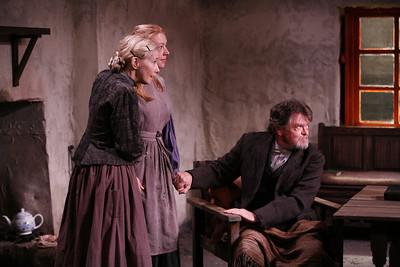 Joyce Cohen, Marion Woods and Robertson Carricart in JOHN FERGUSON by St. John Ervine  Photo: Richard Termine