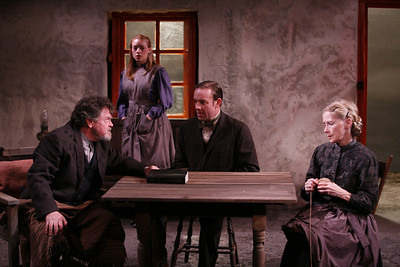 Robertson Carricart, Marion Woods, Mark Saturno and Joyce Cohen in JOHN FERGUSON by St. John Ervine  Photo: Richard Termine