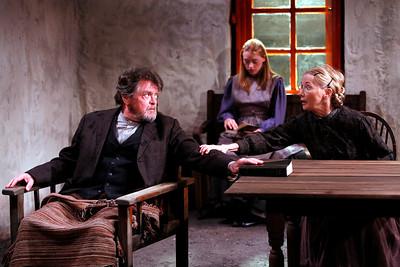 Robertson Carricart, Marion Woods and Joyce Cohen in JOHN FERGUSON by St. John Ervine  Photo: Richard Termine