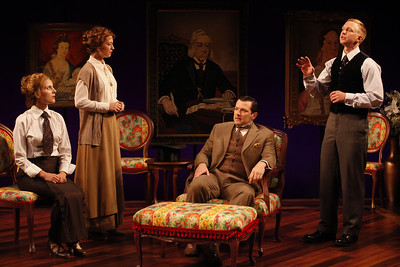 Katie Fabel, Julie Jesneck, Rod Brogan and Roderick Hill in MARY BROOME by Allan Monkhouse  Photo: Carol Rosegg Photography