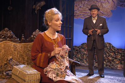 Lisa Bostnar and Jack Davidson in MR. PIM PASSES BY by A.A. Milne  Photo: Richard Termine