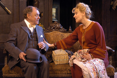 Jack Davidson and Lisa Bostnar in MR. PIM PASSES BY by A.A. Milne  Photo: Richard Termine