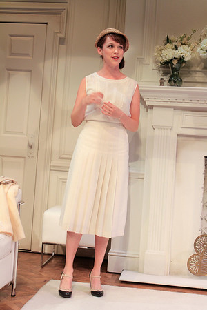 Natalie Kuhn in PHILIP GOES FORTH by George Kelly.  Photo: Rahav Segev/Photopass.com