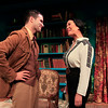 Bernardo Cubría and Christine Toy Johnson in PHILIP GOES FORTH by George Kelly. <br /> Photo: Rahav Segev/Photopass.com
