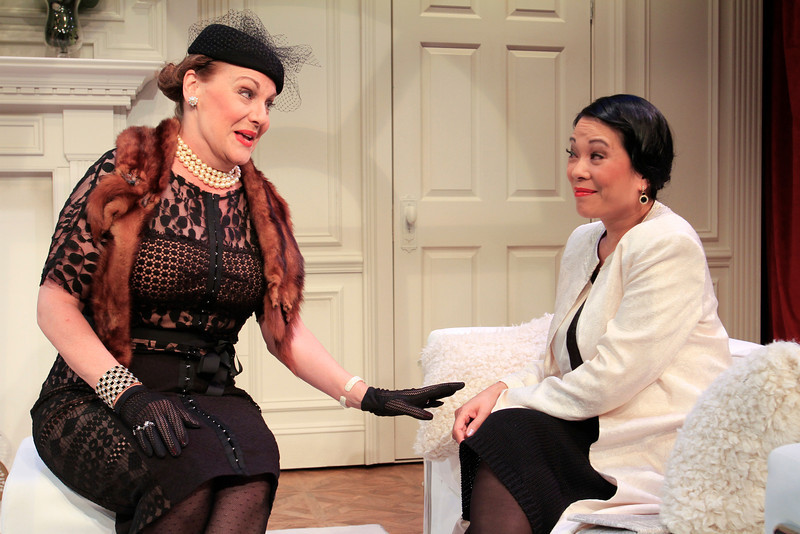 Carole Healey and Christine Toy Johnson in PHILIP GOES FORTH by George Kelly. 