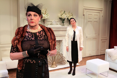 Carole Healey and Christine Toy Johnson in PHILIP GOES FORTH by George Kelly.  Photo: Rahav Segev/Photopass.com