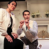 Christine Toy Johnson and Bernardo Cubría in PHILIP GOES FORTH by George Kelly. <br /> Photo: Rahav Segev/Photopass.com