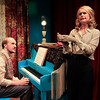 Brian Keith MacDonald and Rachel Moulton in PHILIP GOES FORTH by George Kelly. <br /> Photo: Rahav Segev/Photopass.com