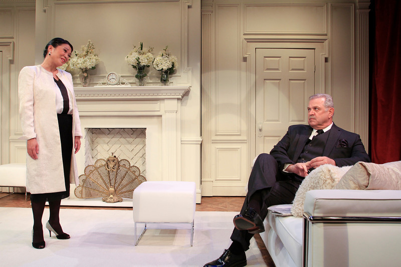 Christine Toy Johnson and Cliff Bemis in PHILIP GOES FORTH by George Kelly.  Photo: Rahav Segev/Photopass.com