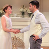 Natalie Kuhn and Bernardo Cubría in PHILIP GOES FORTH by George Kelly.<br /> Photo: Rahav Segev/Photopass.com
