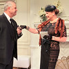 Cliff Bemis and Carole Healey in PHILIP GOES FORTH by George Kelly. <br /> Photo: Rahav Segev/Photopass.com