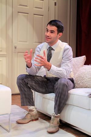 Bernardo Cubría in PHILIP GOES FORTH by George Kelly.  Photo: Rahav Segev/Photopass.com