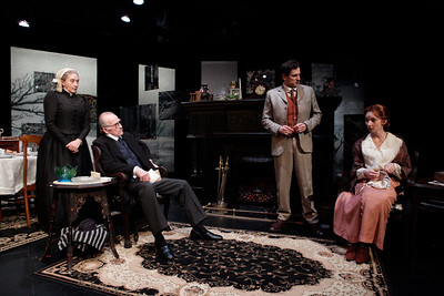 Sandra Shipley, Robert Hogan, Eli James and Allison McLemore in RUTHERFORD & SON by Githa Sowerby Photo: Richard Termine