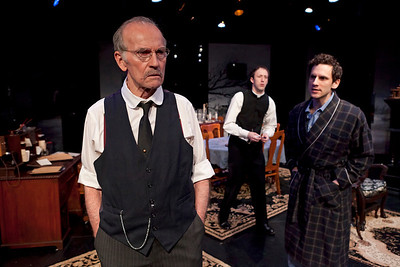 Robert Hogan, James Patrick Nelson and Eli James in RUTHERFORD & SON by Githa Sowerby Photo: Richard Termine