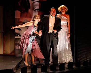 Anna Chlumsky, Allen Lewis Rickman and Kristen Johnston in SO HELP ME GOD! by Maurine Dallas Watkins  Photo: Richard Termine