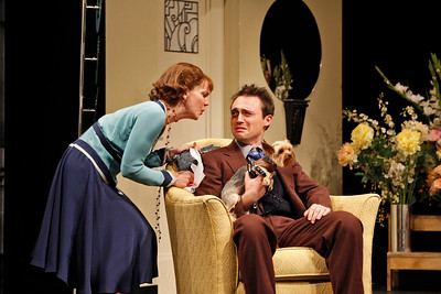 Anna Chlumsky and Kevin O'Donnell in SO HELP ME GOD! by Maurine Dallas Watkins  Photo: Richard Termine