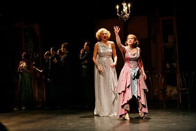 Kristen Johnston and Anna Chlumsky in SO HELP ME GOD! by Maurine Dallas Watkins  Photo: Richard Termine