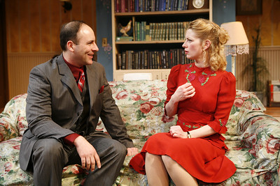 Jordan Lage and Angela Pierce in SOLDIER'S WIFE by Rose Franken  Photo: Richard Termine