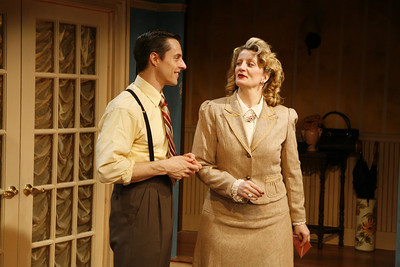 Michael Polak and Judith Hawking in SOLDIER'S WIFE by Rose Franken  Photo: Richard Termine