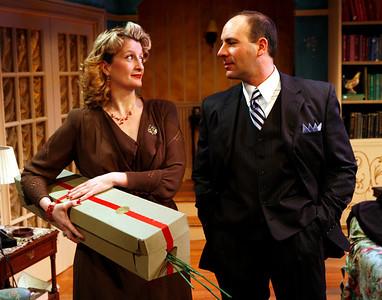 Judith Hawking and Jordan Lage in SOLDIER'S WIFE by Rose Franken  Photo: Richard Termine