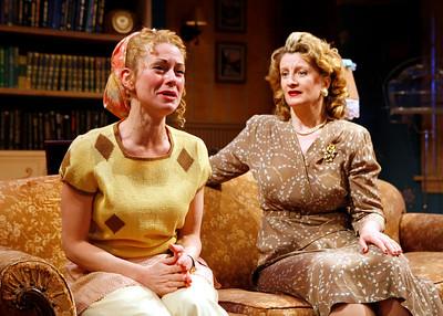 Angela Pierce and Judith Hawking in SOLDIER'S WIFE by Rose Franken  Photo: Richard Termine