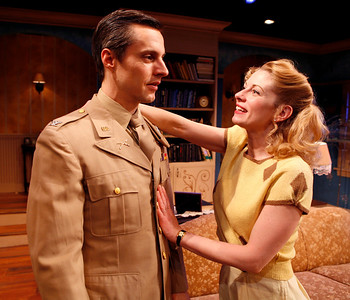 Michael Polak and Angela Pierce in SOLDIER'S WIFE by Rose Franken  Photo: Richard Termine
