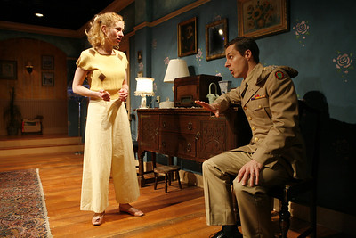 Angela Pierce and Michael Polak in SOLDIER'S WIFE by Rose Franken  Photo: Richard Termine